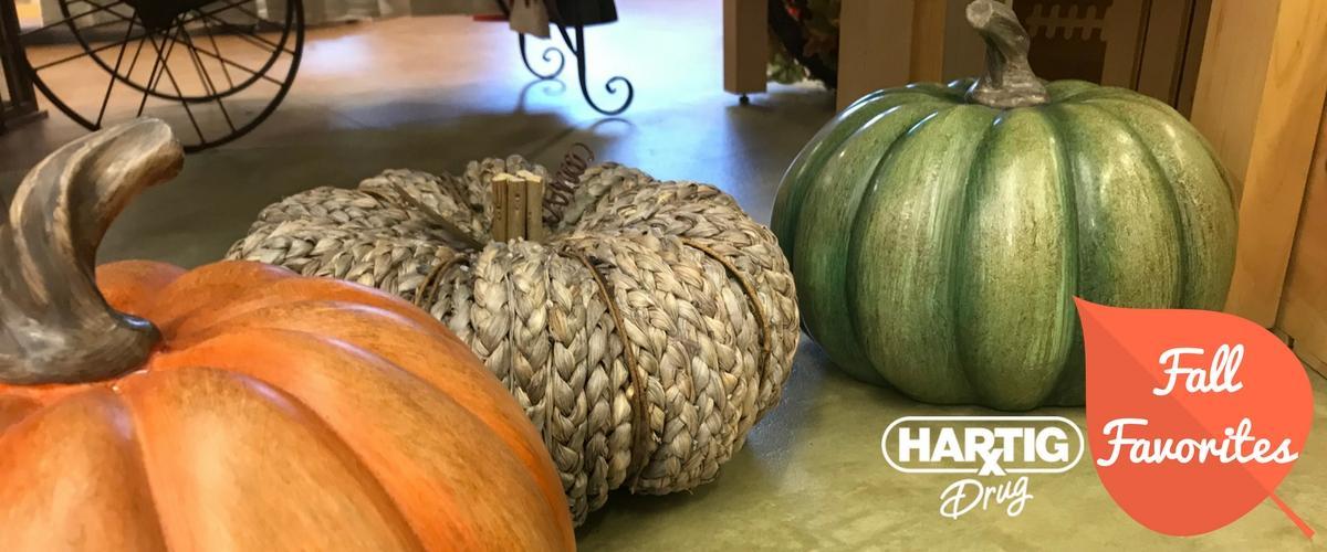Fall Favorites at Hartig Drug