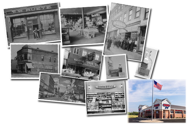 Hartig Image collage - historical photos
