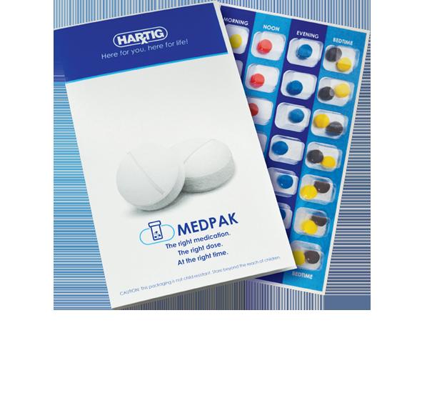 MedPak packaging from Hartig Drug
