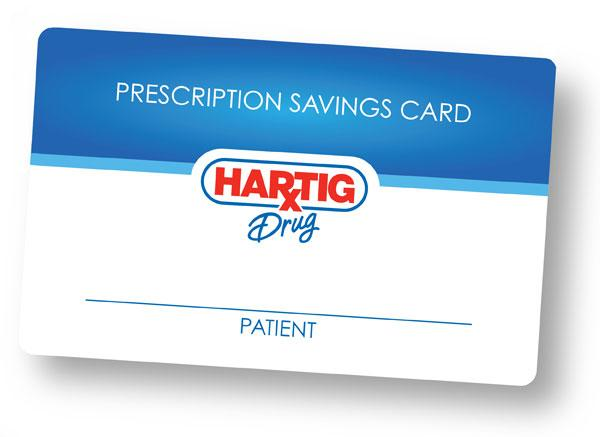 Image of Sample Prescription Savings Card