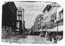 700 block of Main street in 1925