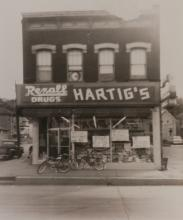 22nd and Central Ave. in Dubuque - 1954