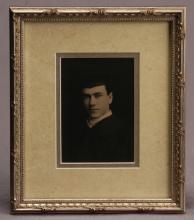 Portrait of AJ Hartig - Northwestern Graduation