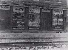 Image of the first Hartig Drug store