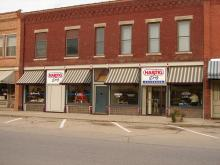Image of Prophetstown, Illinois Hartig Drug store.  2012