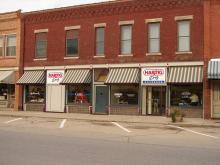 Image of Prophetstown, Illinois Hartig Drug store.  2012